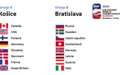 ISHOCKEY VM 2019 (TRUPPERNA)